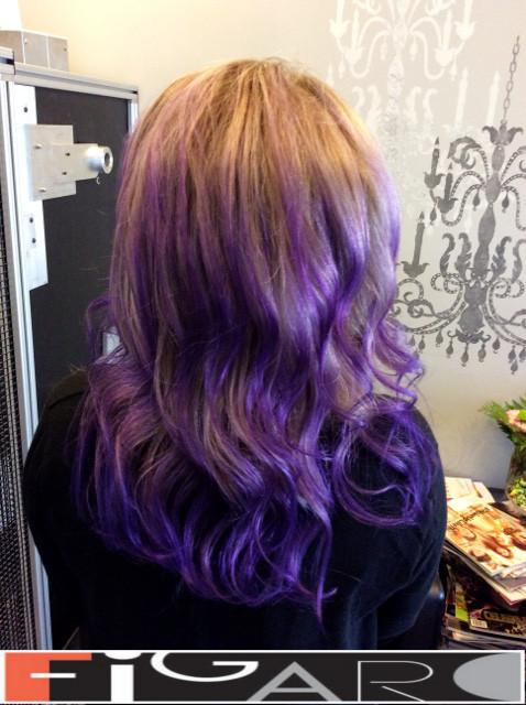 Purple Balayage Ideas Figaro Salon Blog Best Hair Salon Toronto Blog